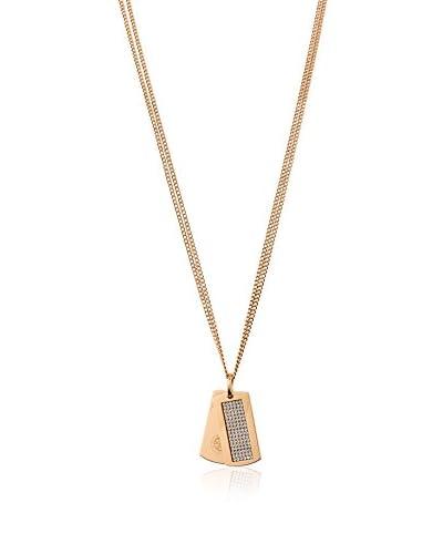 Dyrberg/Kern Collar Halle Rg Crystal Oro Rosa