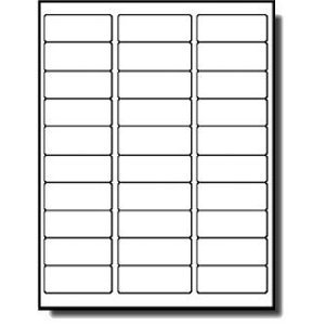 Americopy 3,000 Label Name and Address Labels, 2-5/8″ x 1″, Same Size as Avery® 5160