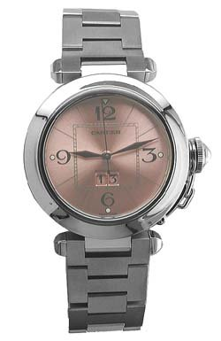 Cartier Women's W31075M7 Pasha C Stainless Steel Automatic Watch