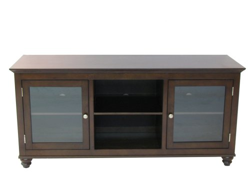 Simple Connect 93072 Middleton Collection 60-Inch Bunfoot TV Stand, Mocha Finish