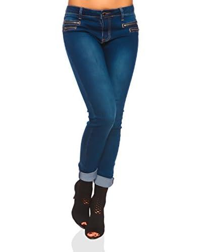Scarlet Jones Vaquero Azul
