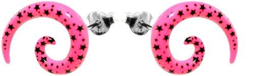 ohrstecker-edelstahl-fakes-tauscher-acryl-pink-m-schw-flecken-l-15-m-ohrring