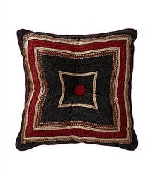 Roma Square Tufted Pillow by J Queen (J Queen New York Pillows compare prices)
