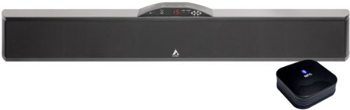 Atlantic Technology H-Pas Powerbar 235 Powered Home Theater Soundbar With Btaa-50 Bluetooth Adapter