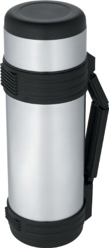 Thermos Nissan 34-Ounce Stainless-Steel Bottle with Folding HandleB0000DDWOI
