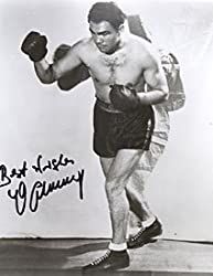 Max Schmeling Autographed / Signed Boxing 8x10 Photo