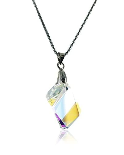 Crystal from Swarovski Collar Multicolor / Plateado