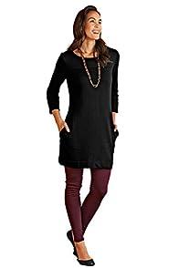 Fair Indigo Fair Trade Organic Sweatshirt Dress