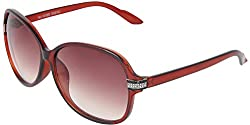 Omnesta Women's Over-sized Sunglasses (Brown) (PD080)