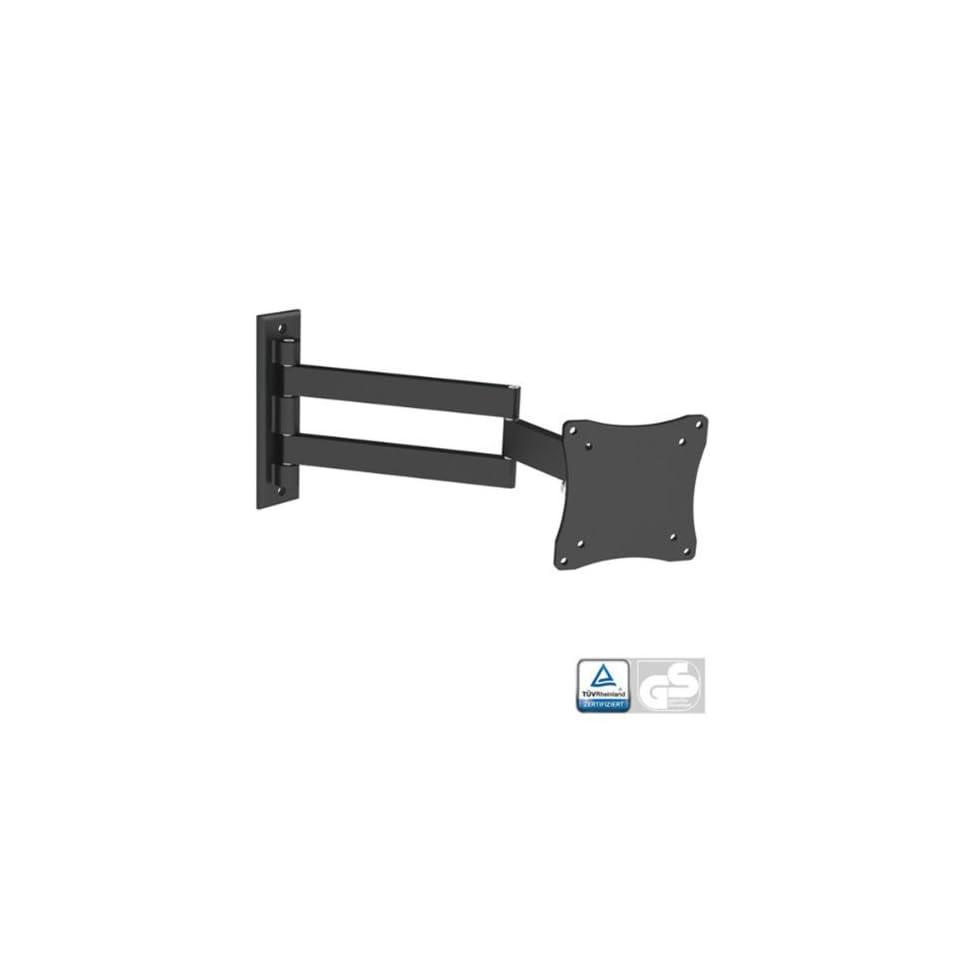 Black Full Motion Tilt/Swivel Wall Mount Bracket for Element ELEFT195 19 inch LED HDTV TV/Television   Articulating/Tilting/Swiveling