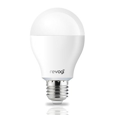Rayshop - Revogi ® Smart Bluetooth E27 8W 600Lm 4000K Warm White Led Bulb For Apple And Over Android 4.3 System