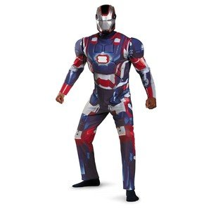 Iron Man Patriot Adult Costume Size:XXL