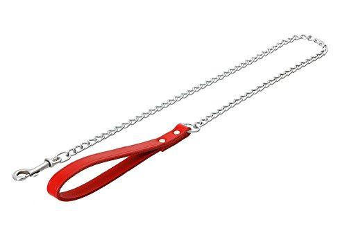 Bild von: Karlie Flamingo 03029 Rondo Kettenleine rot, 12 mm 100 cm Genietet