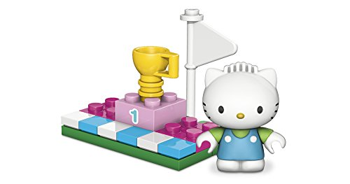 Mega Bloks Hello Kitty Dear Daniel Winners Circle Figure and Accessory Set - 1