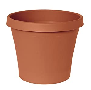 Fiskars 16 Inch Tapered TerraPot, Color Clay (50016C)