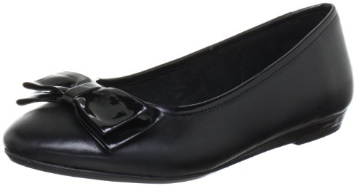 Jana Jana Fashion Ballet Flats Women black Schwarz (BLACK 001) Size: 6.5 (40 EU)