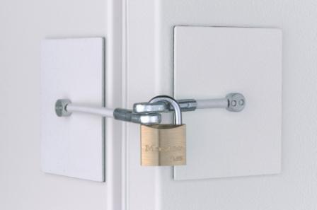 Chest Freezer Lock - White
