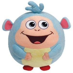 Ty Nickelodeon Beanie Ballz 8'' Plush BOOTS The Dora Monkey Medium Ball