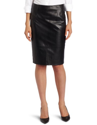 Anne Klein Women's Leather Skirt