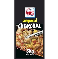 Fuel Express Lumpwood Charcoal 5kg black bag 493942 SALE