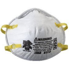3M 8210 N95 Respirator, 20 Count (Pack of 3 (20 ct ea)) by 3M