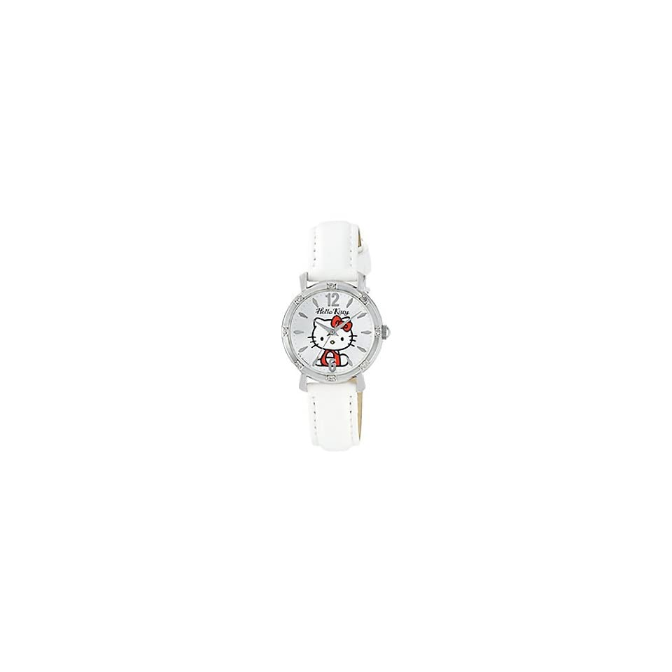 Classic Hello Kitty Round Face Quartz Watch for Children and Teens