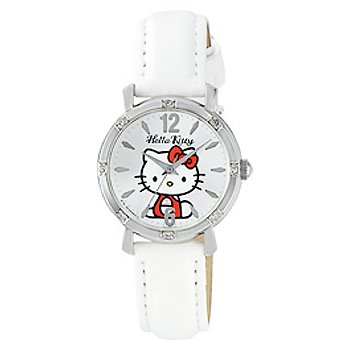 Hello Kitty Classic Crystal Watch (White)