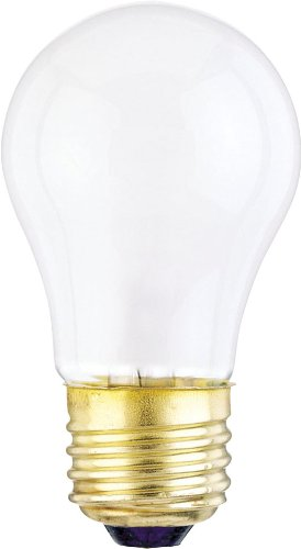 Westinghouse 0400200, 40W, 120V Frosted Incand A15 Light Bulb, 2500 Hour 340 Lumen , 6-Pack back-507159