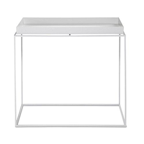 HAY Tray Table Beistelltisch rechteckig, weiß 40x60x54cm