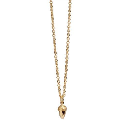 Acorn Pendant In Rose Gold Vermeil