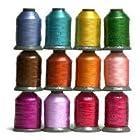 12 Spools SUMMER Embroidery Machine Thread