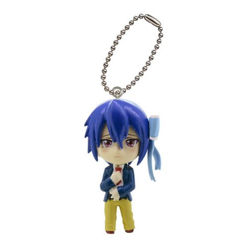 Anime nisekoi Swing mini figure Strap mascot Key Chain SEISHIROU TSUGUMI JAPAN - 1