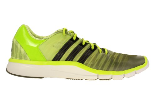buy popular e07e5 735cd Adidas Mens Adipure 360 2 Running Shoes Earth Green Black White M17698 Size  9