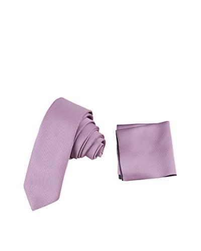 Giorgio Di Mare Set Cravatta + Fazzoletto [Rosa]
