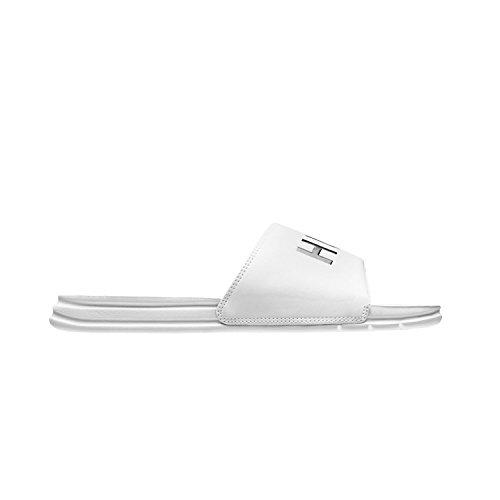 HUF Men's Slide Skate Shoe, White, 11 M US