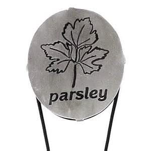 Achla Designs MKR-02P Oval Garden Herb Markers, Parsley