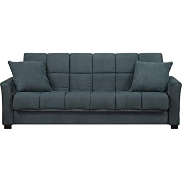 Baja Convert-a-Couch and Sofa Bed, Medium Blue