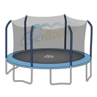 17-X-15-Trampoline-Enclosure-Net-for-6-Straight-Curved-Poles-fits-Skywalker