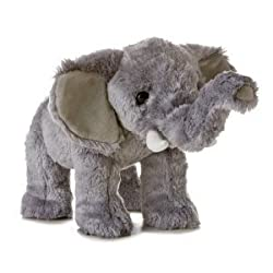 "Eco Elephant Aurora Naturals Soy Fiber Plush Toy 12""l"