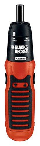 Black & Decker AS600 6-Volt Alkaline Battery Cordless Screwdriver