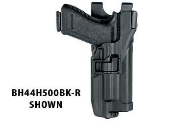 BlackHawk Serpa Auto Lock Level 3 Light Bearing Xiphos Duty Holster For Glock 17/19/22/23/31/32 Right Hand, Black