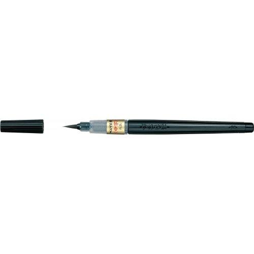 ぺんてる 筆ペン筆中字XFL2L