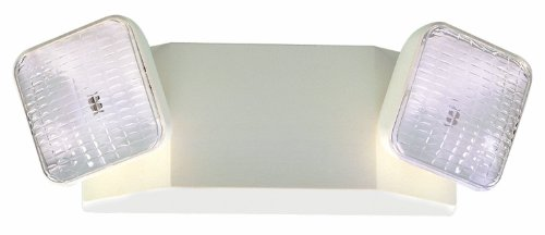 Royal Pacific Rel1Wh-E Two Head Emergency Light, White