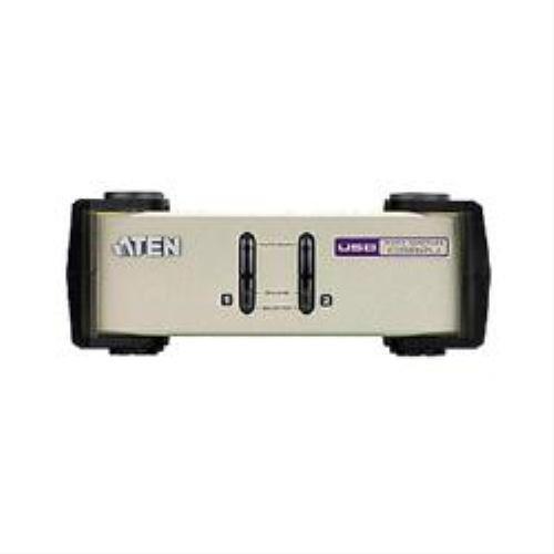 2port Usb-Ps/2 Kvm Switch W/Edid & Win7 Sup