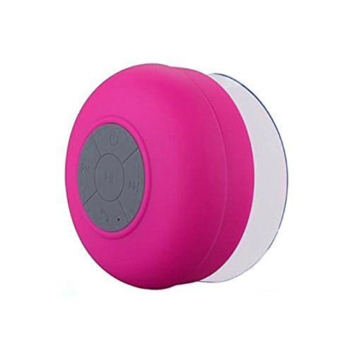 icbc-portable-bluetooth-wireless-waterproof-suction-shower-car-handsfree-mic-speaker-rose-red