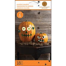 Martha Stewart Crafts Halloween Pumpkin Transfers: Mischievous Pumpkin