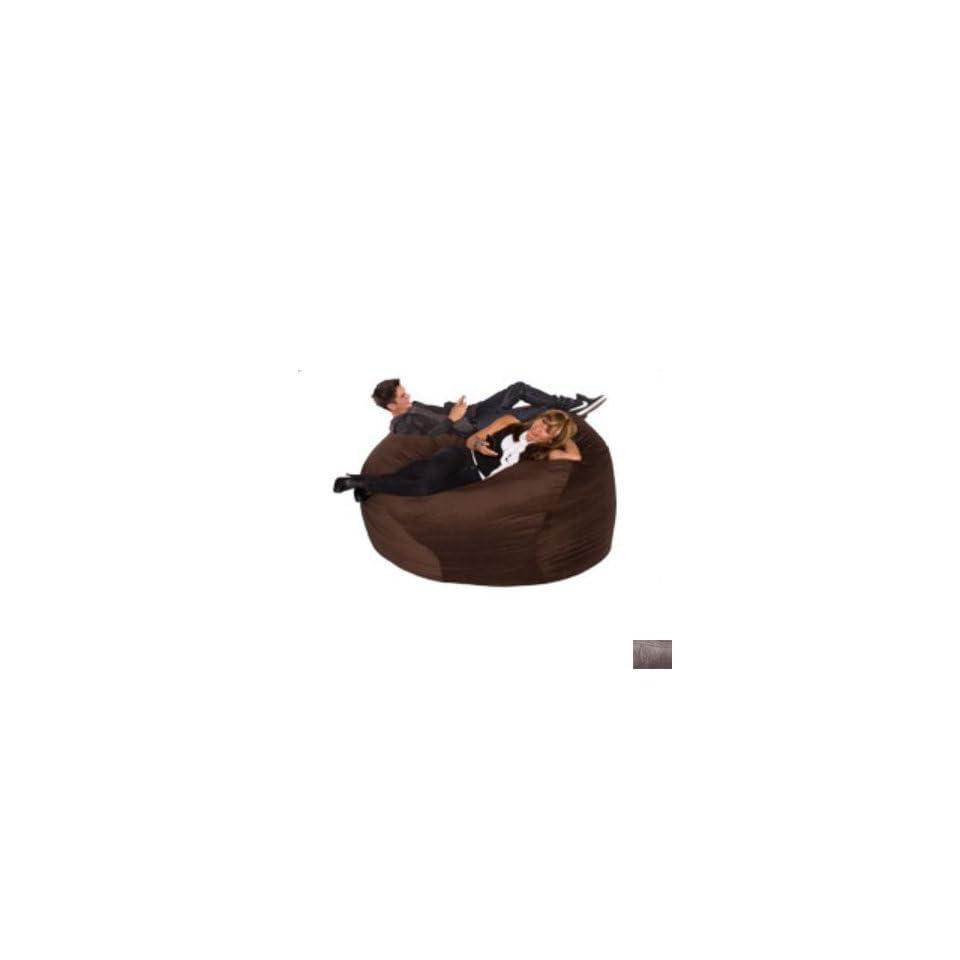 Big Sacks Medium Bean Bag Chair Color Legend Espresso