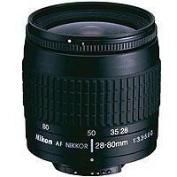 Nikon 28-80mm f/3.3-5.6G Wide Angle-Telephoto Auto Focus Zoom Nikkor Lens - Black Finish - Refurbished By Nikon U.S.A.