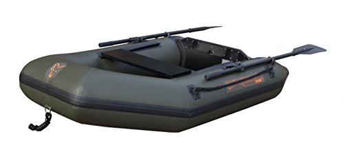Fox-Schlauchboot-FX-200-Inflatable-Boat-inkl-Hard-Back-Marine-Ply-Floor-Boot-Angelboot-Anglerboot