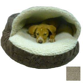 Amazon.com : Snoozer Luxury Orthopedic Cozy Cave Pet Bed